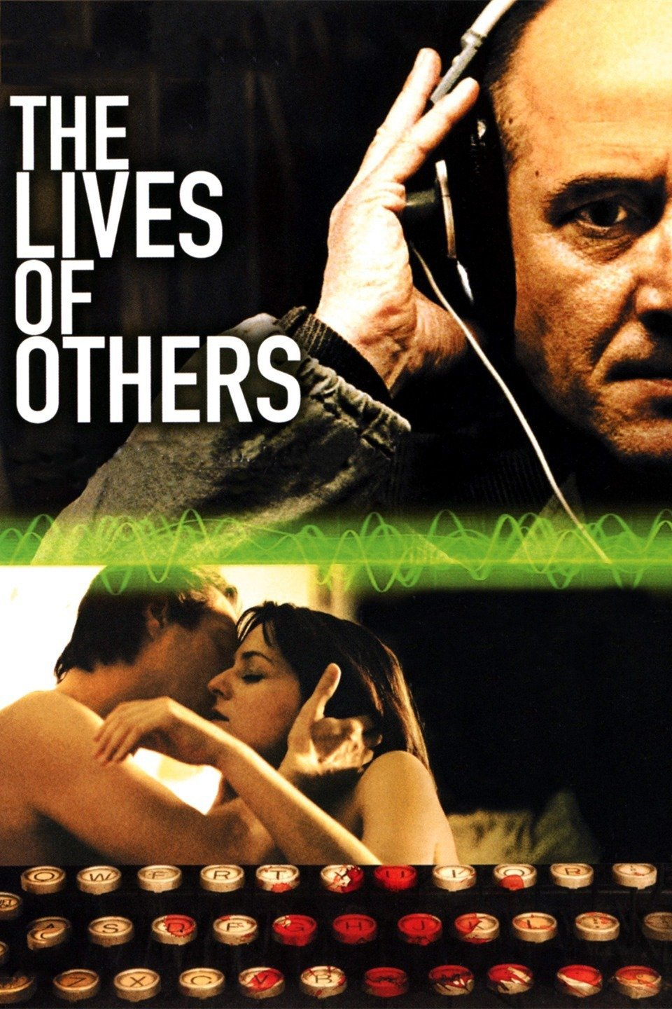 The Lives of Others (2006) - Directed by: Florian Henckel von DonnersmarckStarring: Ulrich Muhe, Sebastian Koch, Martina Gedeck, Ulrich TukurRated: R for Some Sexuality/NudityRunning Time: 2 h 17 mTMM Score: 5 stars out of 5STRENGTHS: Writing, Directing, Acting, MessageWEAKNESSES: -