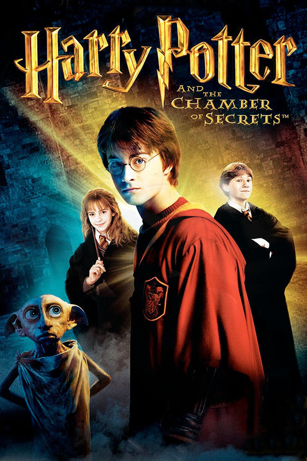 Harry Potter and the Chamber of Secrets (2002) - Directed by: Chris ColombusStarring: Daniel Radcliffe, Rupert Grint, Emma Watson, Toby Jones, Richard Griffiths, Fiona Shaw, Bonnie Wright, Tom Felton, Jason Isaacs, Robbie Coltrane, Kenneth Branagh, Alan Rickman, Richard Harris, Maggie Smith, David Bradley, Warwick DavisRated: PG for Scary Moments, Some Creature Violence and Mild LanguageRunning Time: 2 h 41 mTMM Score: 3 stars out of 5STRENGTHS: Story, Some Production Design, World BuildingWEAKNESSES: Directing, Pacing, Some Production Design, Some Acting