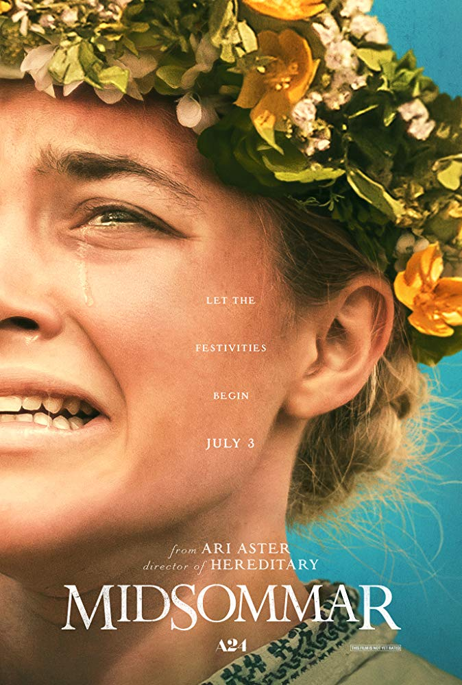 Midsommar (2019) - Directed by: Ari AsterStarring: Florence Pugh, Jack Reynor, William Jackson Harper, Will Poulter, Anders Back, Ellora TorchiaRated: R for Disturbing Ritualistic Violence and Grisly Images, Strong Sexual Content, Graphic Nudity, Drug Use and LanguageRunning Time: 2 h 27 mTMM Score: 4 stars out of 5STRENGTHS: Directing, World Building, Themes, Cinematography, ActingWEAKNESSES: Some Pacing