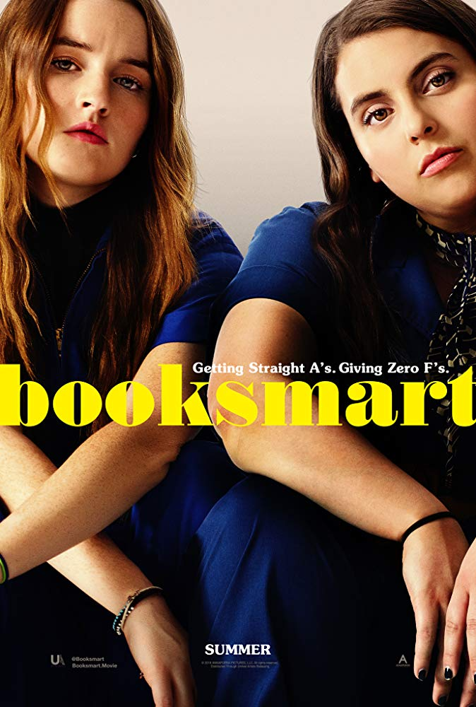 Booksmart (2019) - Directed by: Olivia WildeStarring: Kaitlyn Dever, Beanie Feldstein, Jessica Williams, Jason Sudeikis, Lisa Kudrow, Will Forte, Victoria Ruesga, Mason Gooding, Skyler Gisondo, Diana SilversRated: R for Strong Sexual Content and Language Throughout, Drug Use and Drinking- All Involving TeensRunning Time: 1 h 42 mTMM Score: 4 stars out of 5STRENGTHS: Directing, Writing, Characters, Themes, HumorWEAKNESSES: Originality, Some Jokes Fall Flat