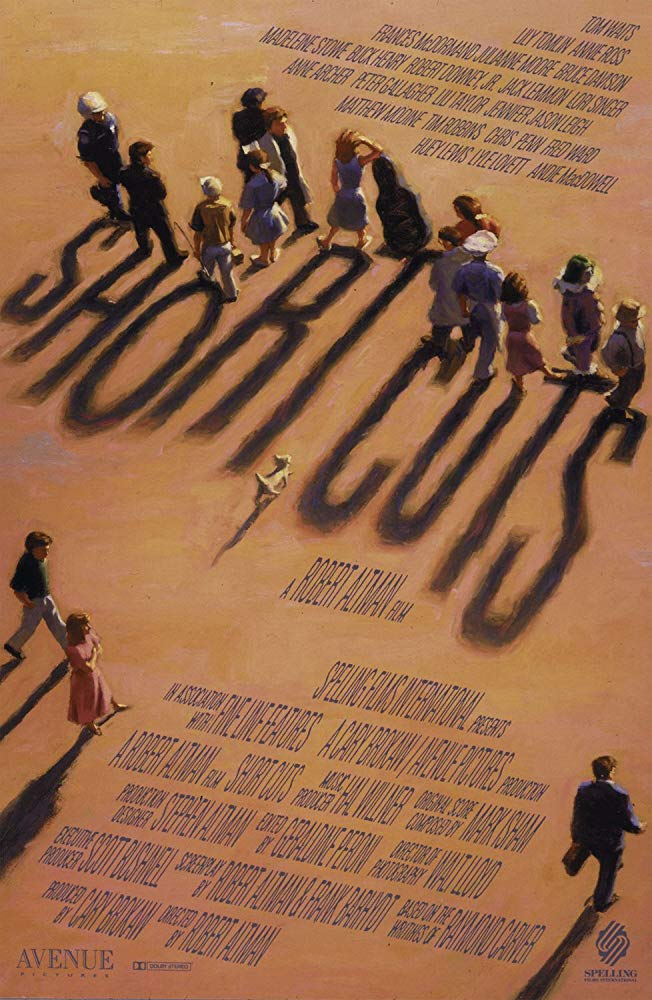 Short Cuts (1993) - Directed by: Robert AltmanStarring: Jack Lemmon, Julianne Moore, Mathew Modine, Jennifer Jason Leigh, Chris Penn, Robert Downey Jr., Madeleine Stowe, Tim Robins, Lily Tomlin, Tom Waits, Frances McDormand, Peter Gallagher, Annie Ross, Lori Singer, Huey LewisRated: R for Graphic Sexual Language, and for NudityRunning Time: 3 h 8 mTMM Score: 4.5 stars out of 5STRENGTHS: Writing, Directing, Acting, Story, World BuildingWEAKNESSES: Pacing, Length
