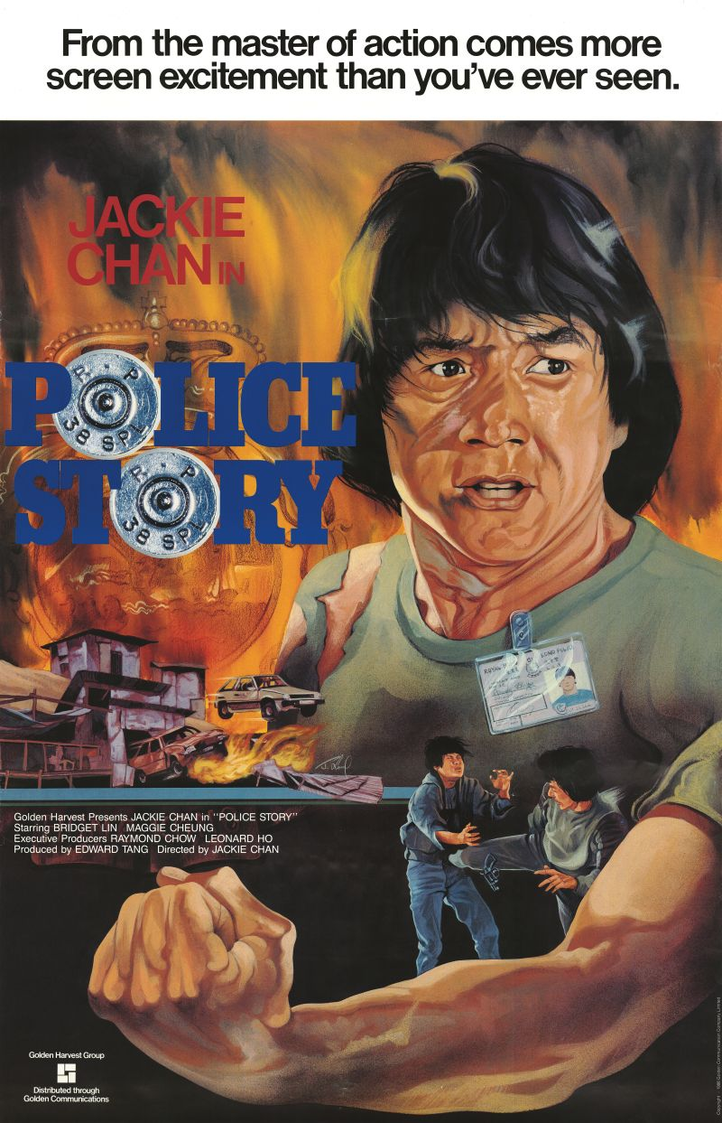 Police Story (1985) - Directed By: Jackie Chan, Chi-Hwa ChenStarring: Jackie Chan, Maggie Cheung, Brigitte Lin, Kwok-Hung Lam, Bill Tung, Yuen ChorRated: PG-13Run Time: 1h 40mTMM Score: 4 StarsStrengths: Martial Arts, Comedy, Set PiecesWeakness: Emotional Connection
