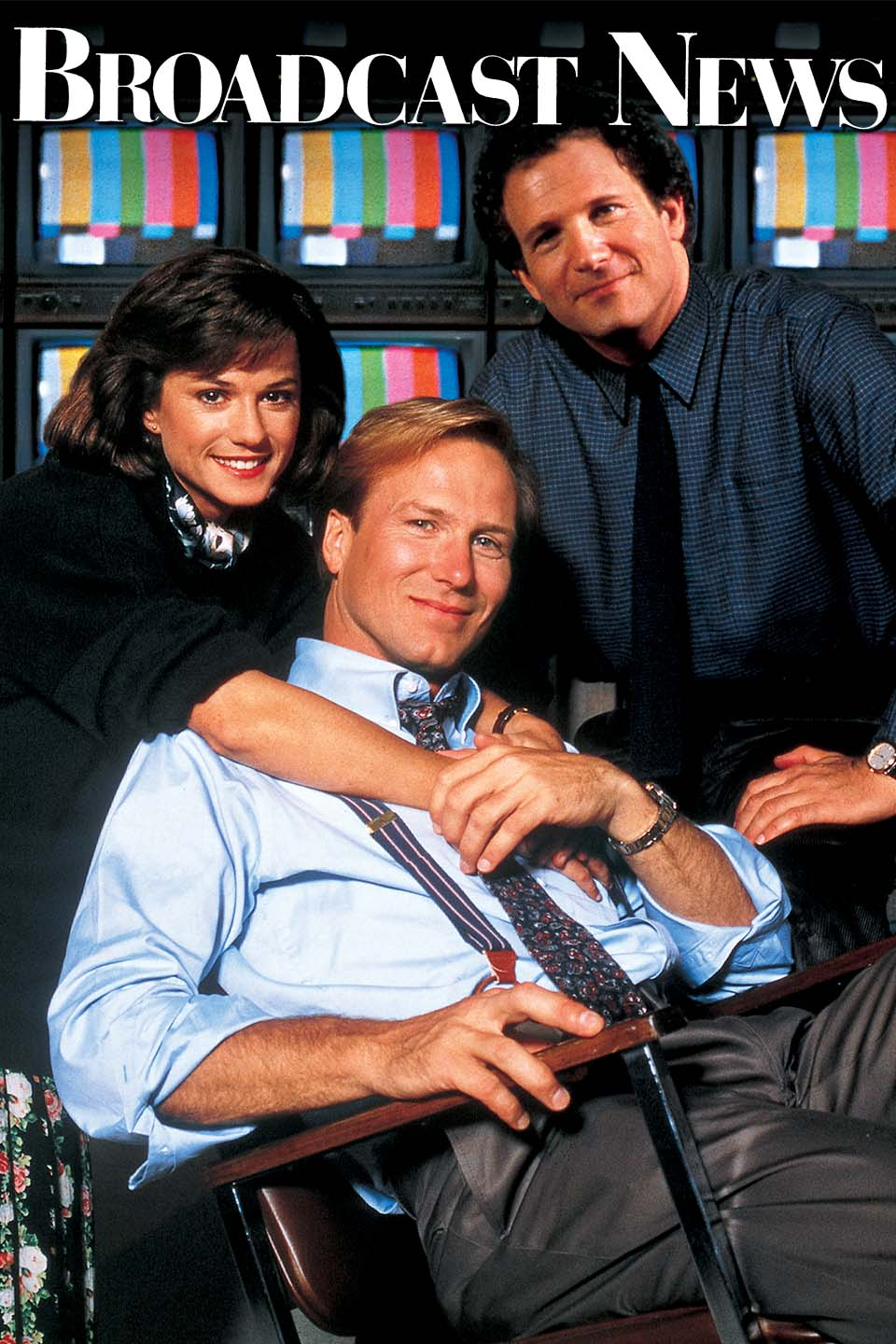 Broadcast News (1987) - Directed by: James L BrooksStarring: William Hurt, Albert Brooks, Holly Hunter, Joan Cusack, Christian Clemenson, Jack NicholsonRated: RRunning Time: 2 h 13 mTMM Score: 4 stars out of 5STRENGTHS: Characters, Writing, Directing, Acting, SatireWEAKNESSES: Some Cheesy Moments
