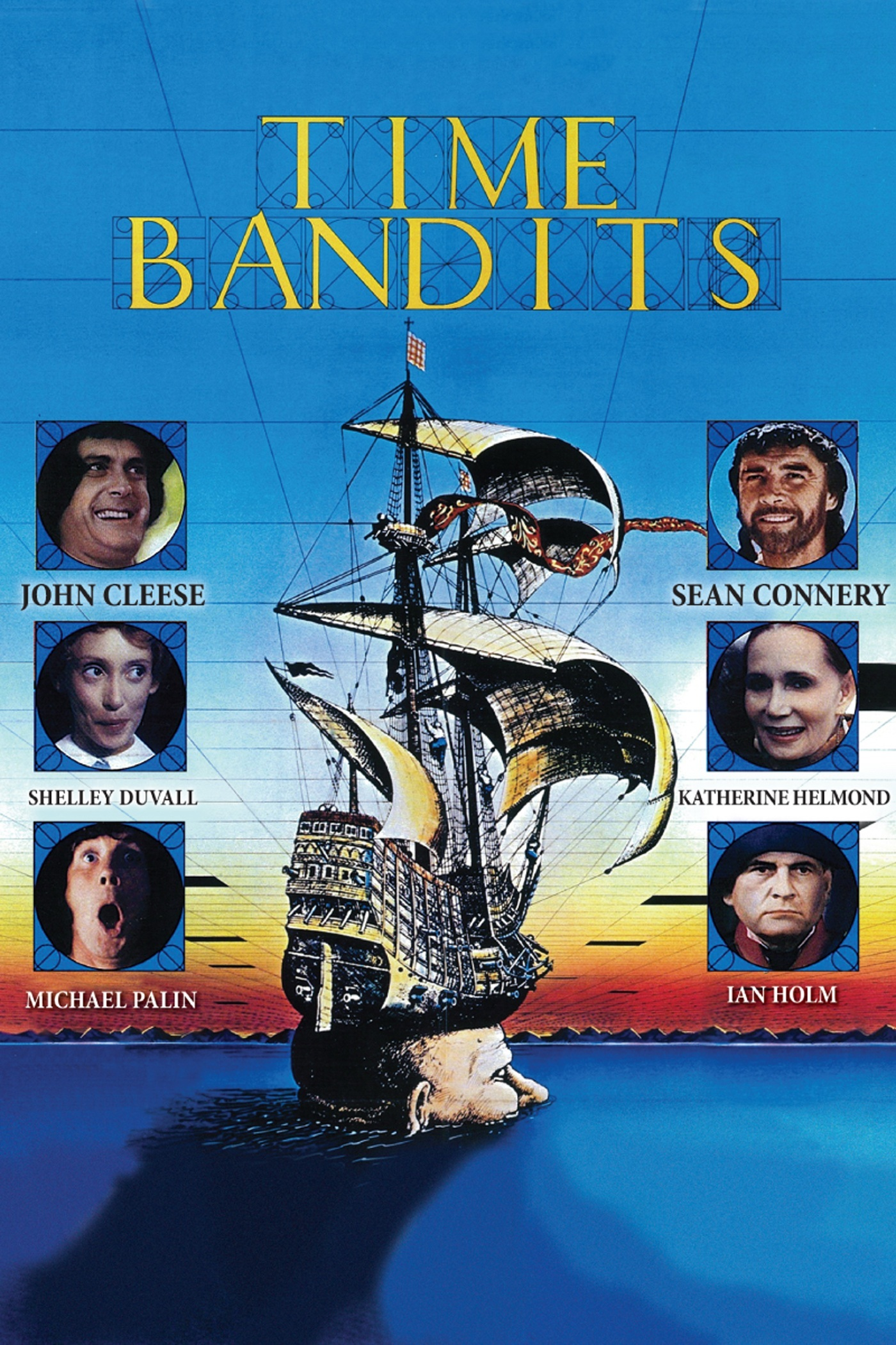 Time Bandits (1981) - Directed By: Terry GilliamStarring: John Cleese, Sean Connery, Shelley Duvall, Ian Holm, Michael Palin, David Warner, David Rappaport, Kenny Baker, Malcom Dixon, Jack Purvis, Craig WarnockRated: PGRun Time: 1h 50mTMM Score: 4 StarsStrengths: Imagination, FunWeakness: Child Acting