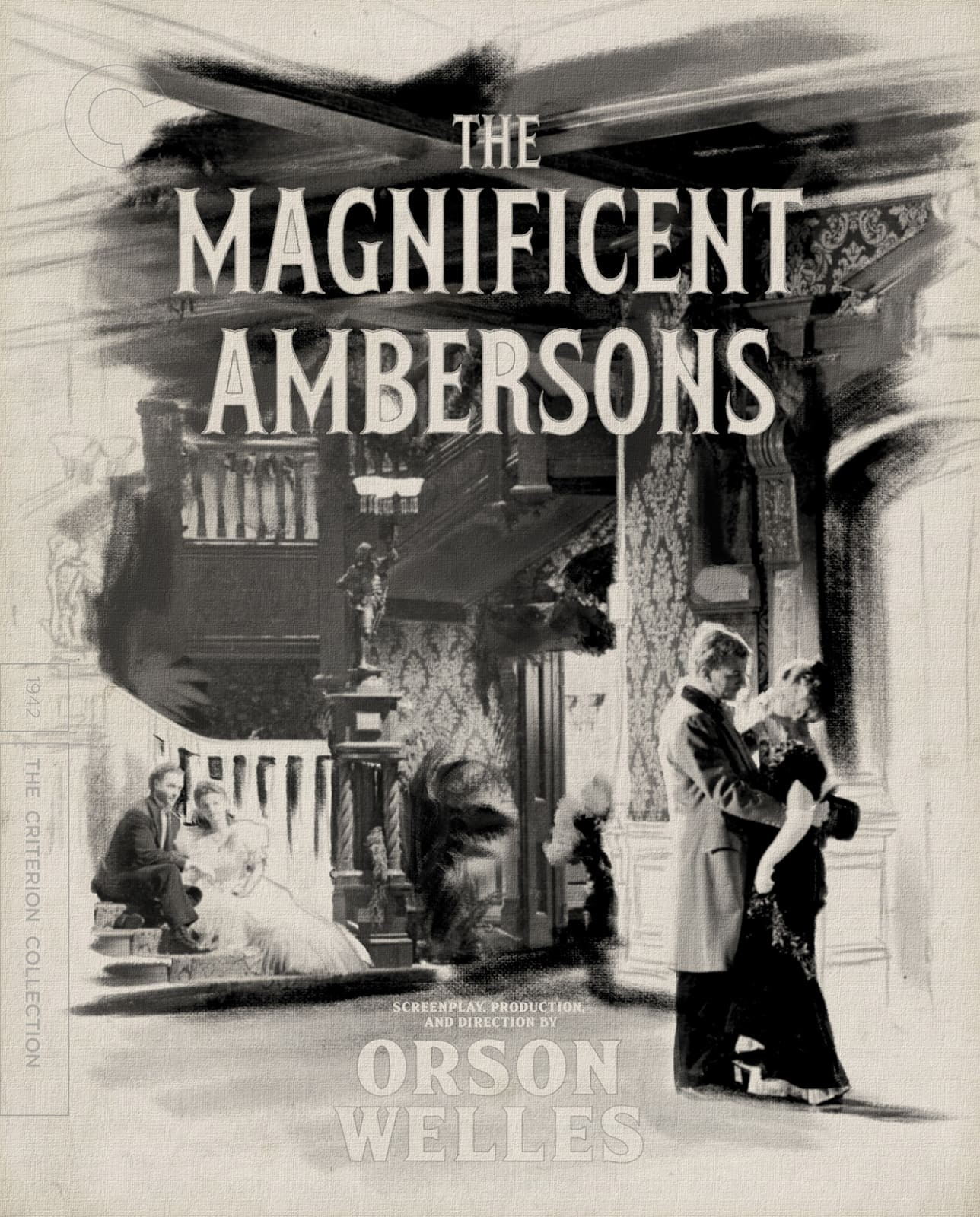 The Magnificent Ambersons (1942) - Directed by: Orson WellesStarring: Tim Holt, Agnes Moorehead, Anne Baxter, Joseph Cotton, Dolores CostelloRated: NR (Suggested PG for Thematic Material)Running Time: 1 h 28 mTMM Score: 5 stars out of 5STRENGTHS: Directing, Writing, Acting, Cinematography, StoryWEAKNESSES: Last Five Minutes