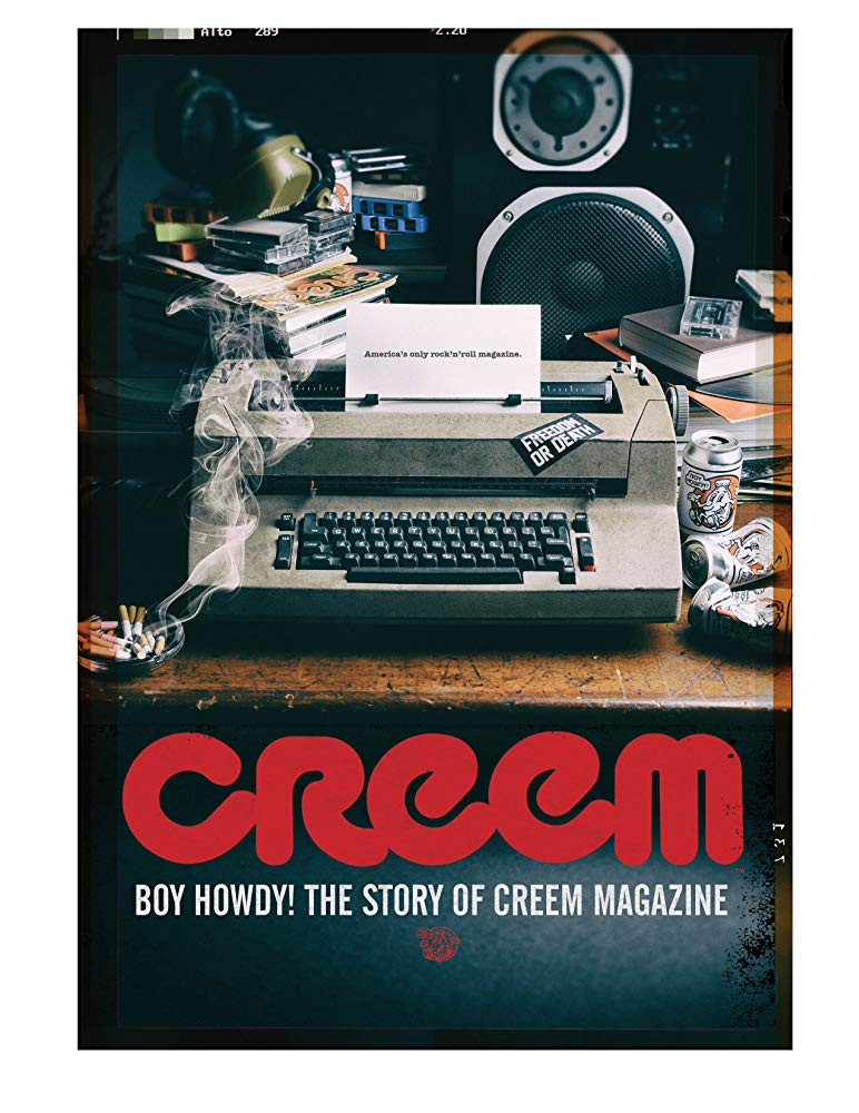 Boy Howdy: The Story of Creem Magazine  (2019) - Directed by: Scott CrawfordStarring: Alice Cooper, Cameron Crowe, Joan Jett, Paul Stanley, Gene SimmonsRated: NR (Suggested: R for Language and Suggestive Material)Running Time: 1 h 15 mTMM Score: 3 stars out of 5STRENGTHS: Raw Unfiltered EnergyWEAKNESSES: Focus, Some Technical Aspects