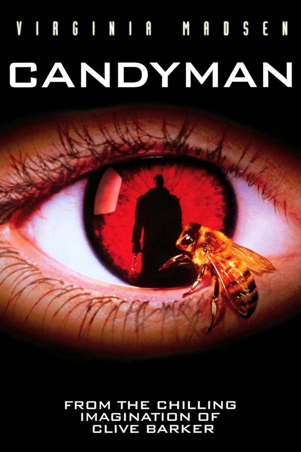 Candyman  (1992) - Directed by: Bernard RoseStarring: Virginia Madsen, Tony Todd, Venessa Williams, Kasi LemmonsRated: R for Violence and GoreRunning Time: 1 h 39 mTMM Score: 3 stars out of 5STRENGTHS: Themes, Twist on Familiar StoryWEAKNESSES: Acting, Cheesy and Dated Moments