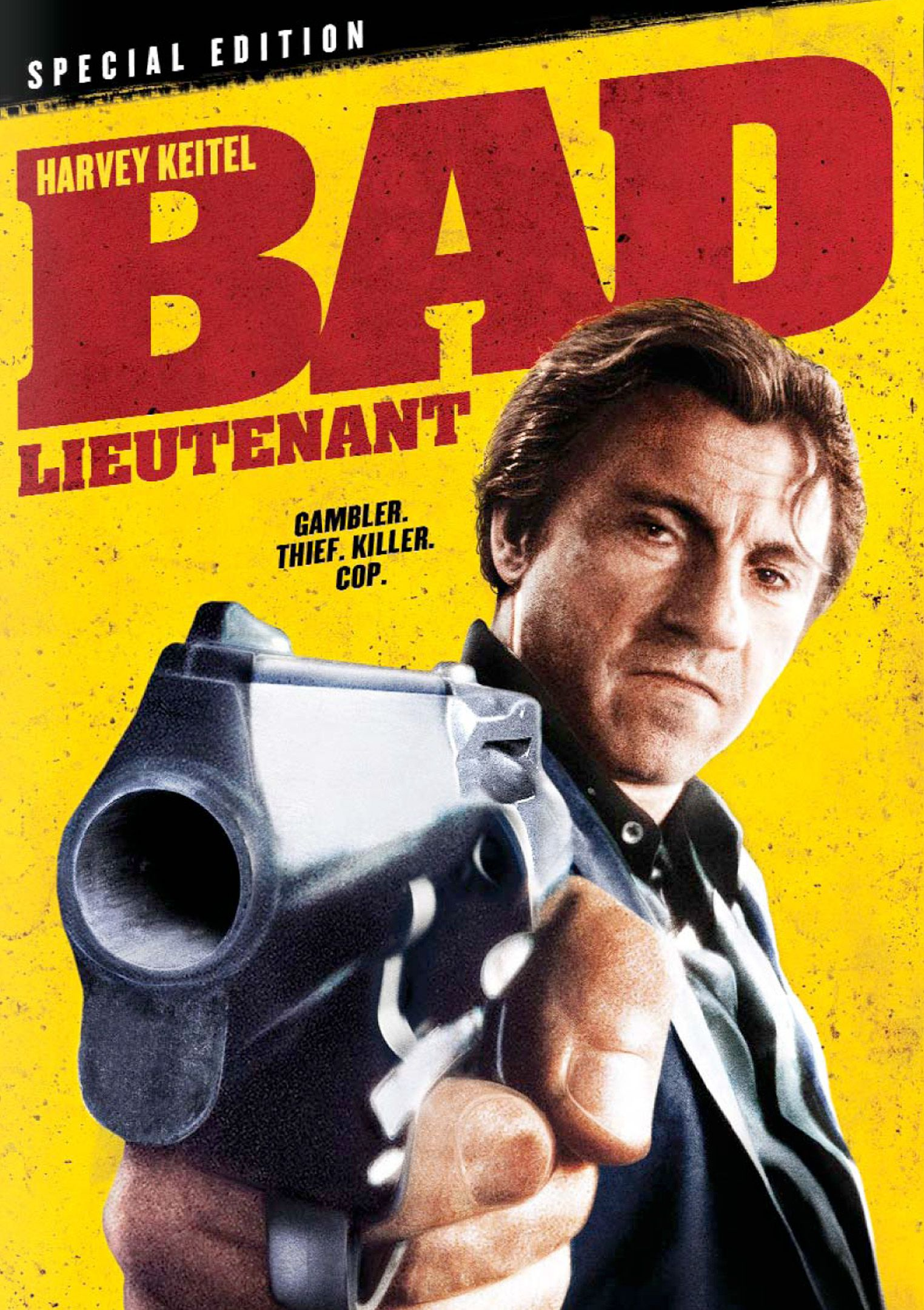 Bad Lieutenant (1992) - Directed by: Abel FerraraStarring: Harvey Keitel, Frankie Thorn, Zoe LundRated: NC-17 for Sexual Violence, Strong Sexual Situations and Dialogue, Graphic Drug UseRunning Time: 1 h 36 mTMM Score: 4 stars out of 5STRENGTHS: Acting, Writing, DirectingWEAKNESSES: Content Will Deter Some Viewers, Some Melodrama