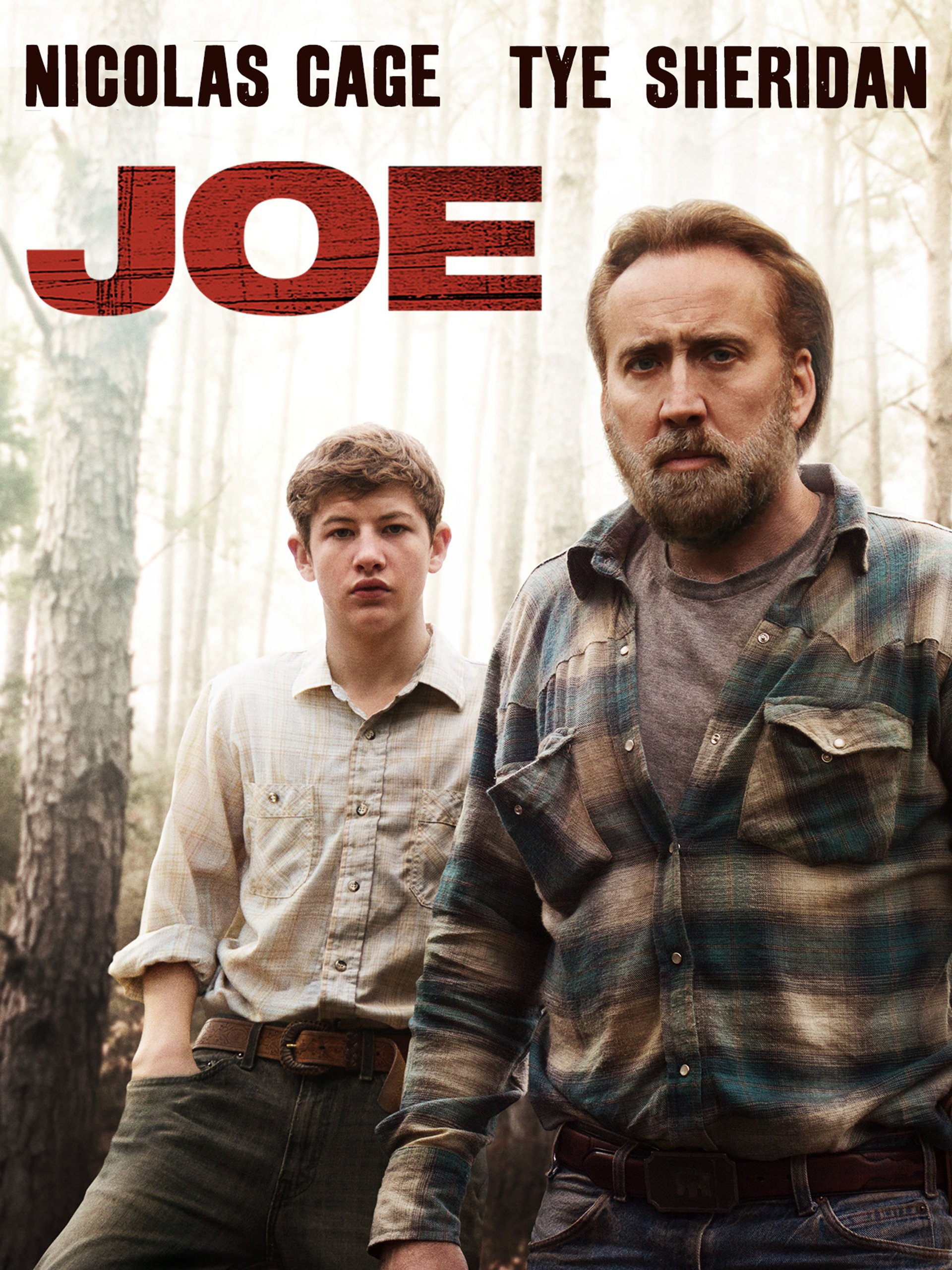Joe (2013) - Directed by: David Gordon GreenStarring: Nicolas Cage, Tye Sheridan, Gary PoulterRated: R for Violence, Disturbing Material, Language and Some Strong Sexual ContentRunning Time: 2hTMM Score: 4 StarsSTRENGTHS: Subtle Nic Cage, Performances, Atmosphere, StoryWEAKNESSES: Some Directing/Writing Choices, Unnecessary Animal Violence