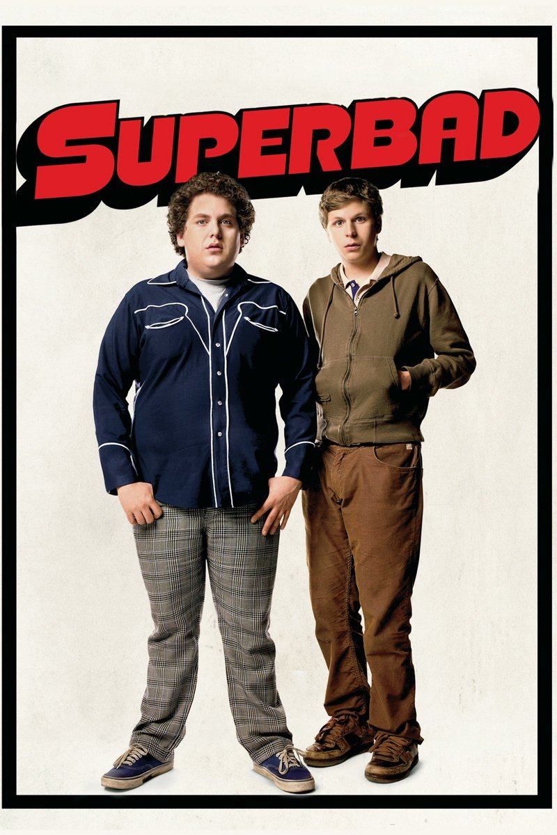 Superbad (2007) - Directed by: Greg MottolaStarring: Jonah Hill, Michael Cera, Christopher Mintz-Plasse, Emma Stone, Bill Hader, Seth RogenRated: R for Pervasive Crude and Sexual Content, Strong Language, Drinking, Some Drug Use and a Brief Violent Image - All Involving TeensRunning Time: 2hTMM Score: 4.5 StarsSTRENGTHS: Nostalgic, Hilarious Characters, Trend SetterWEAKNESSES: Convenient Story Beats