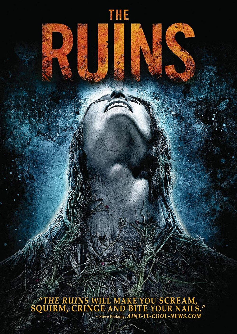 The Ruins (2008) - Directed by: Carter SmithStarring: Laura Ramsey, Jena Malone, Jonathan Tucker, Shawn AshmoreRated: R for Strong Violence and Gruesome ImagesRunning Time: 1h 30mTMM Score: 2 StarsSTRENGTHS: Good Ideas, Decent DeathsWEAKNESSES: Amateur Writing, Too Familiar, Silly Character Motivations