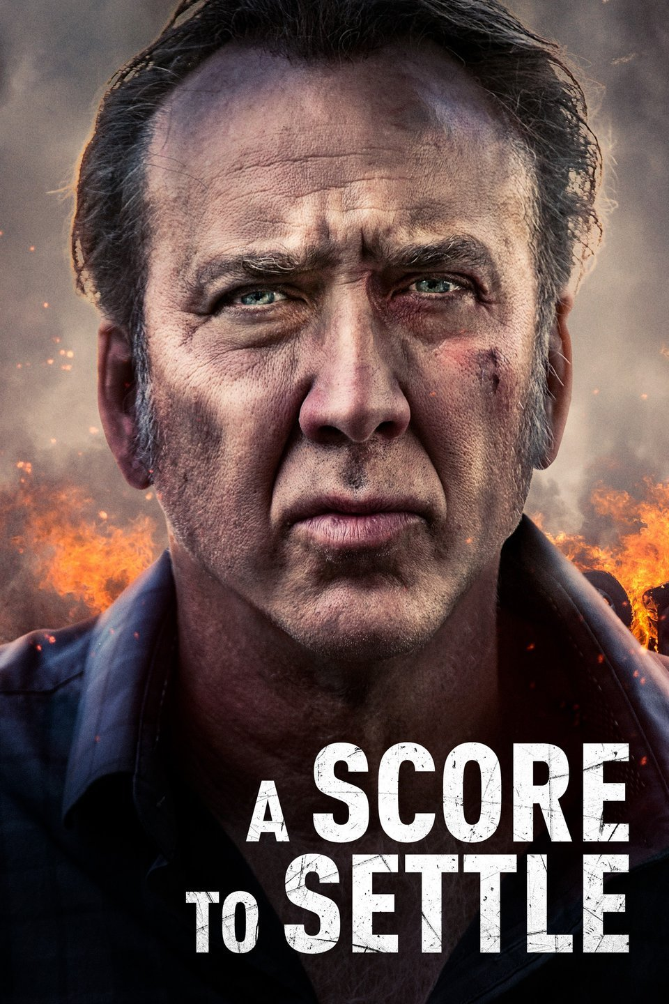 A Score to Settle (2019) - Directed by: Shawn KuStarring: Nicolas Cage, Benjamin Bratt, Noah Le GrosRated: R for Violence and LanguageRunning Time: 1h 43mTMM Score: 2 StarsSTRENGTHS: Nic CageWEAKNESSES: Amateur Filmmaking