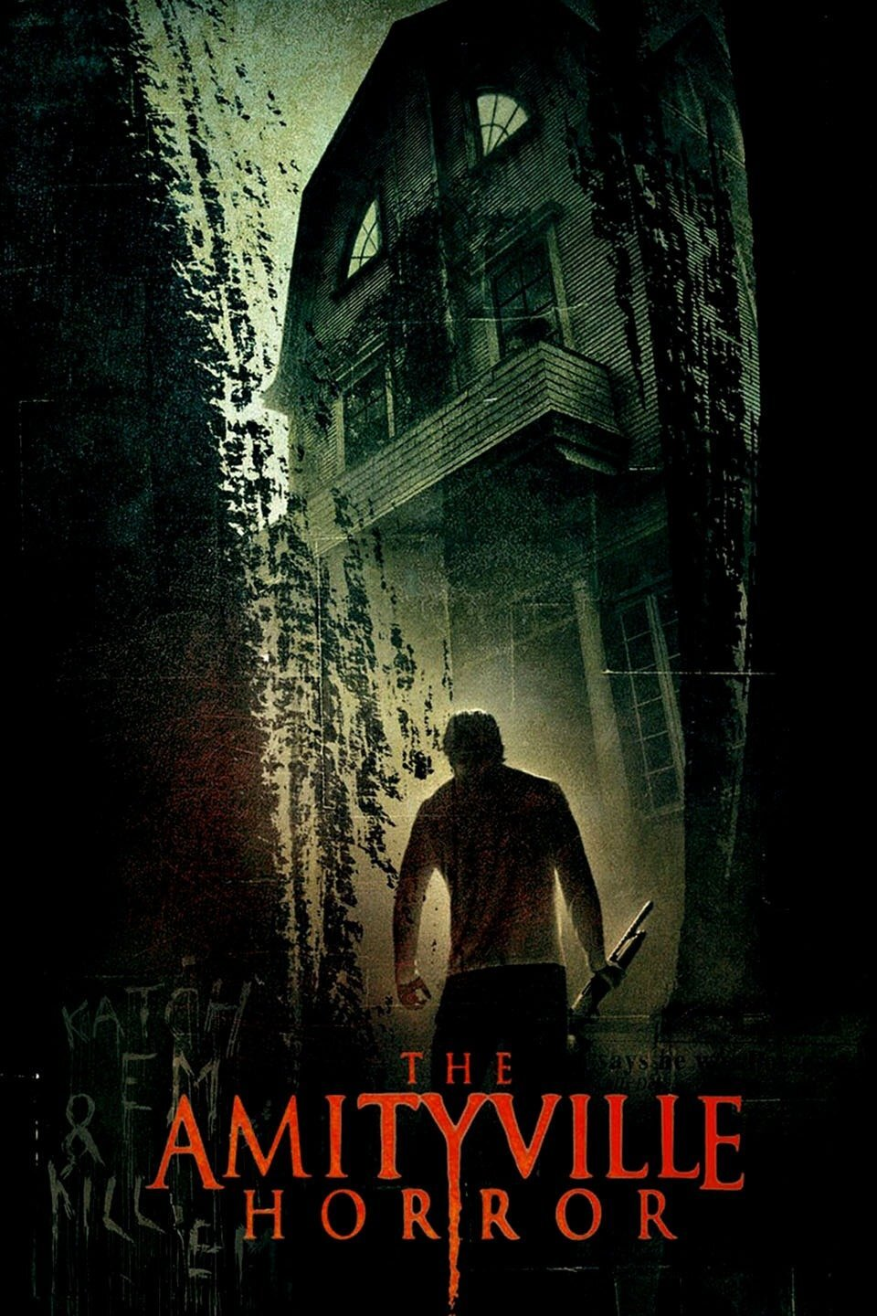 The Amityville Horror (2005) - Directed by: Andrew DouglasStarring: Ryan Reynolds, Melissa George, Chloe Grace MoretzRated: R for Violence, Disturbing Images, Language, Brief Sexuality and Drug UseRunning Time: 1h 34mTMM Score: 2 StarsSTRENGTHS: Ryan Reynolds, Couple Creepy ScaresWEAKNESSES: Generic, Poor Direction, Not Very Scary