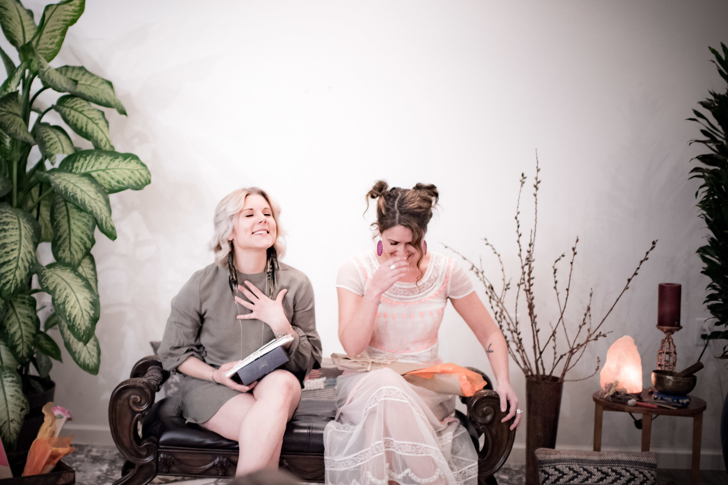 photo of Craft Mentor Carly with trainee Dana at Craft Graduation Ceremony