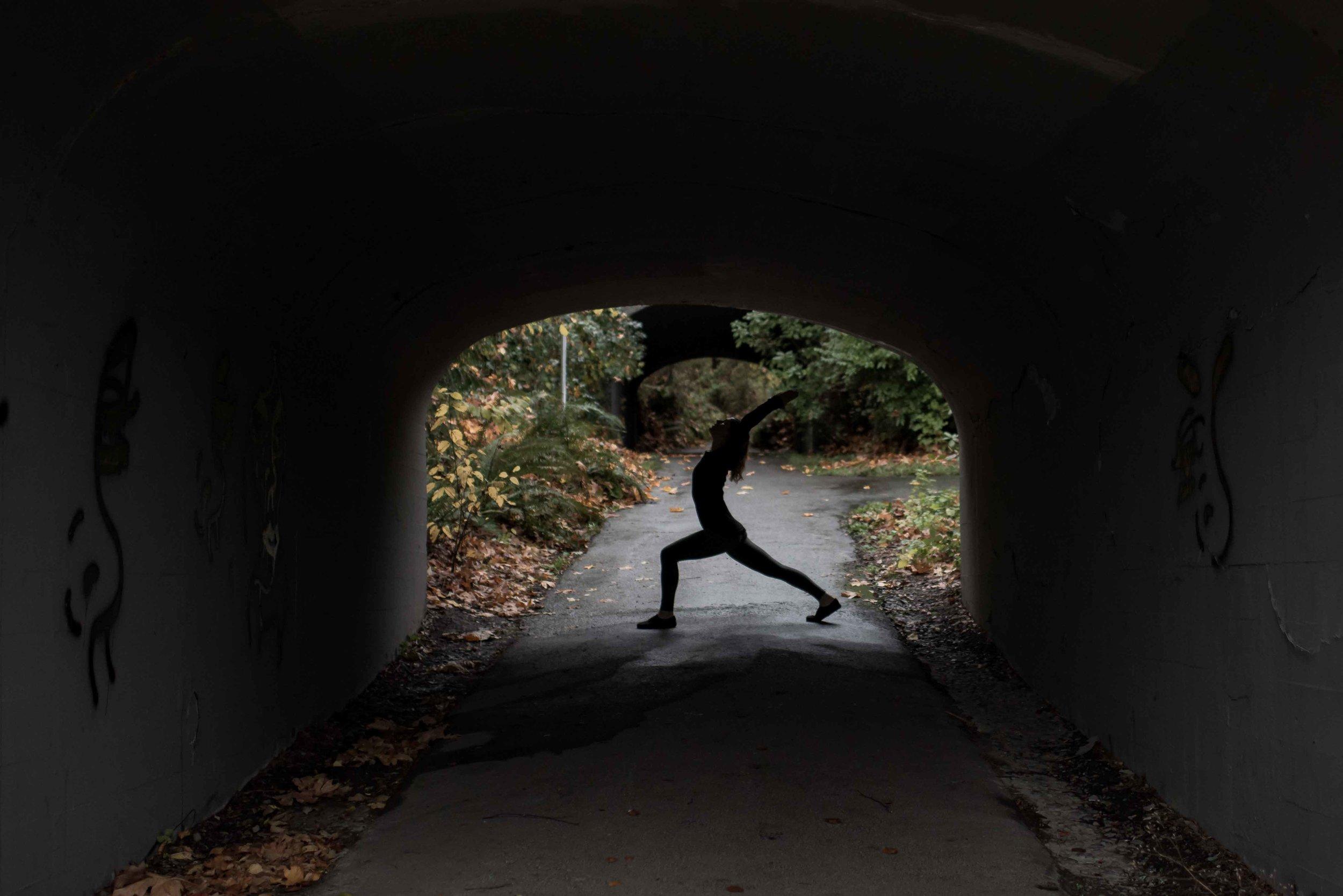 photo of Seattle yoga instructor Sarah Goble