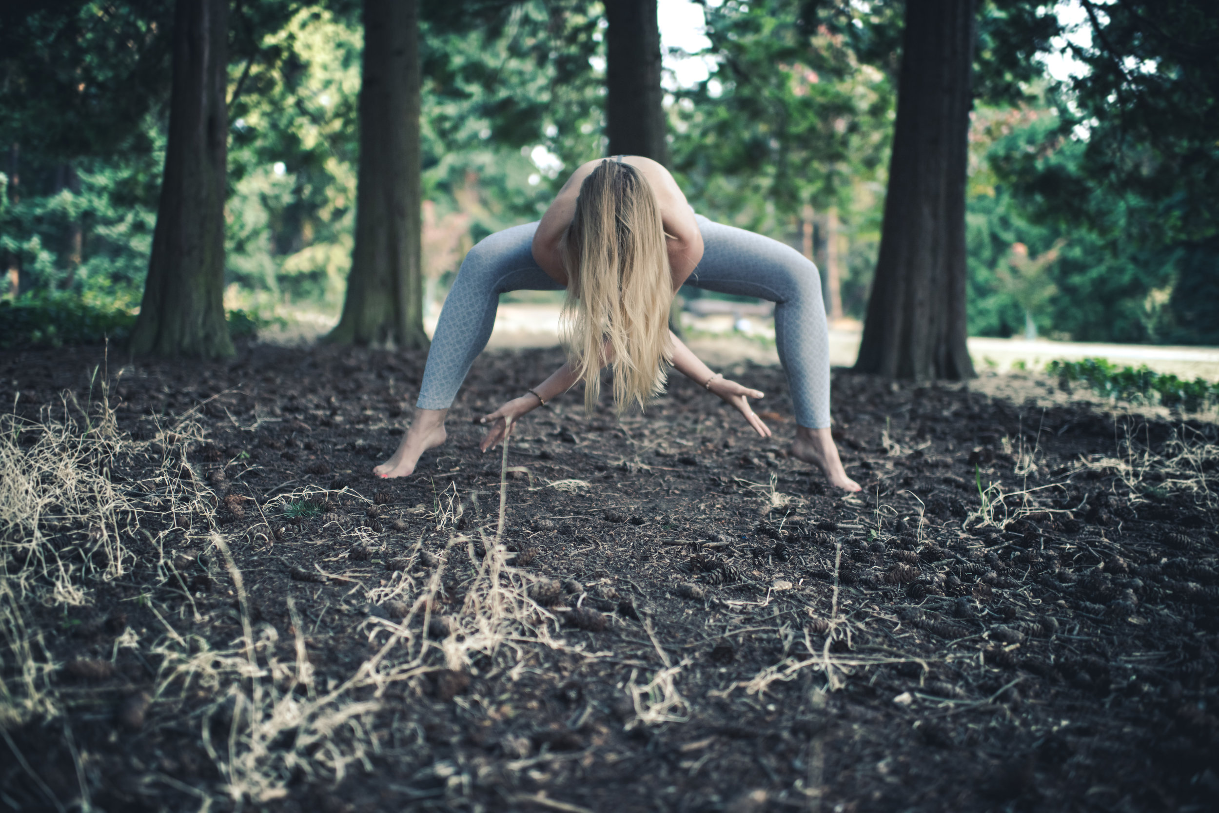 photography of seattle yoga instructor, Katherine Axt