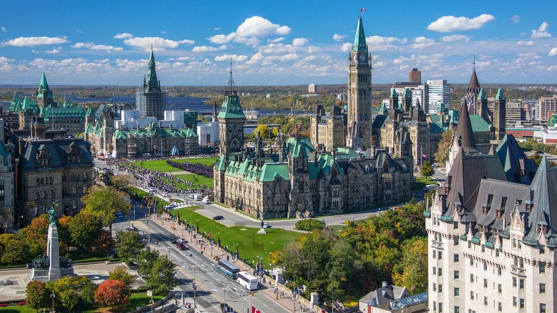 Thủ đô Ottawa thuộc tỉnh bang Ontario Canada