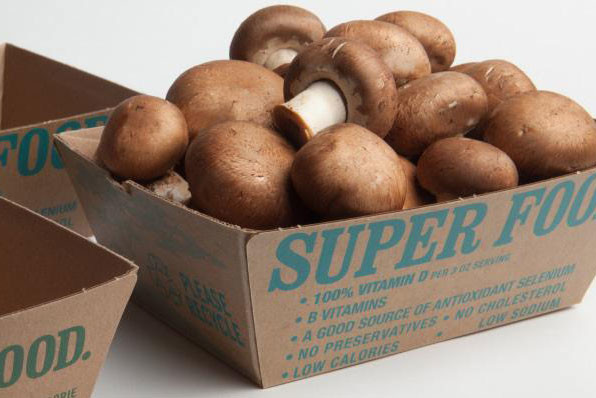 Monterey Mushrooms - Biodegradable corrugated formed trays