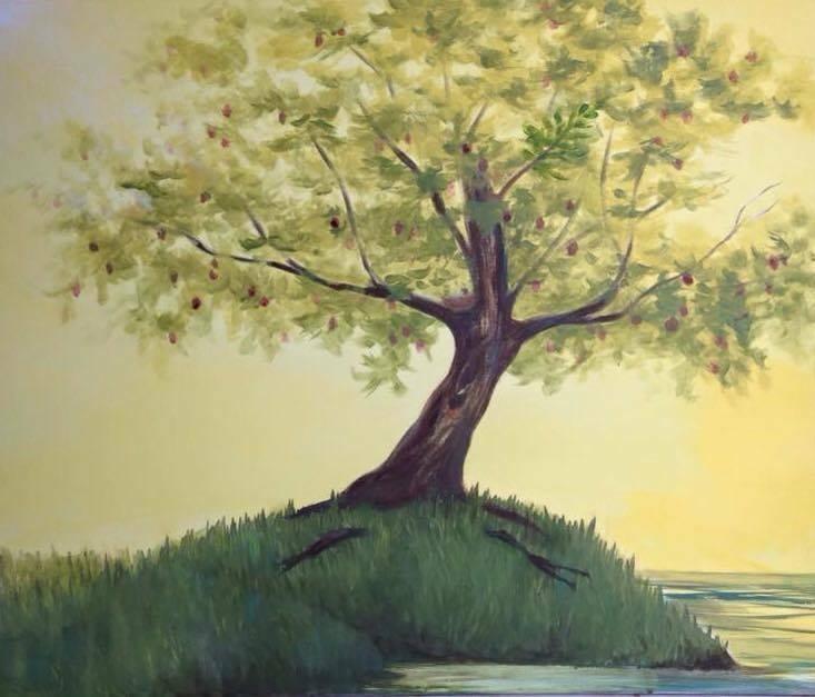 Painting by Kathryn Vilela