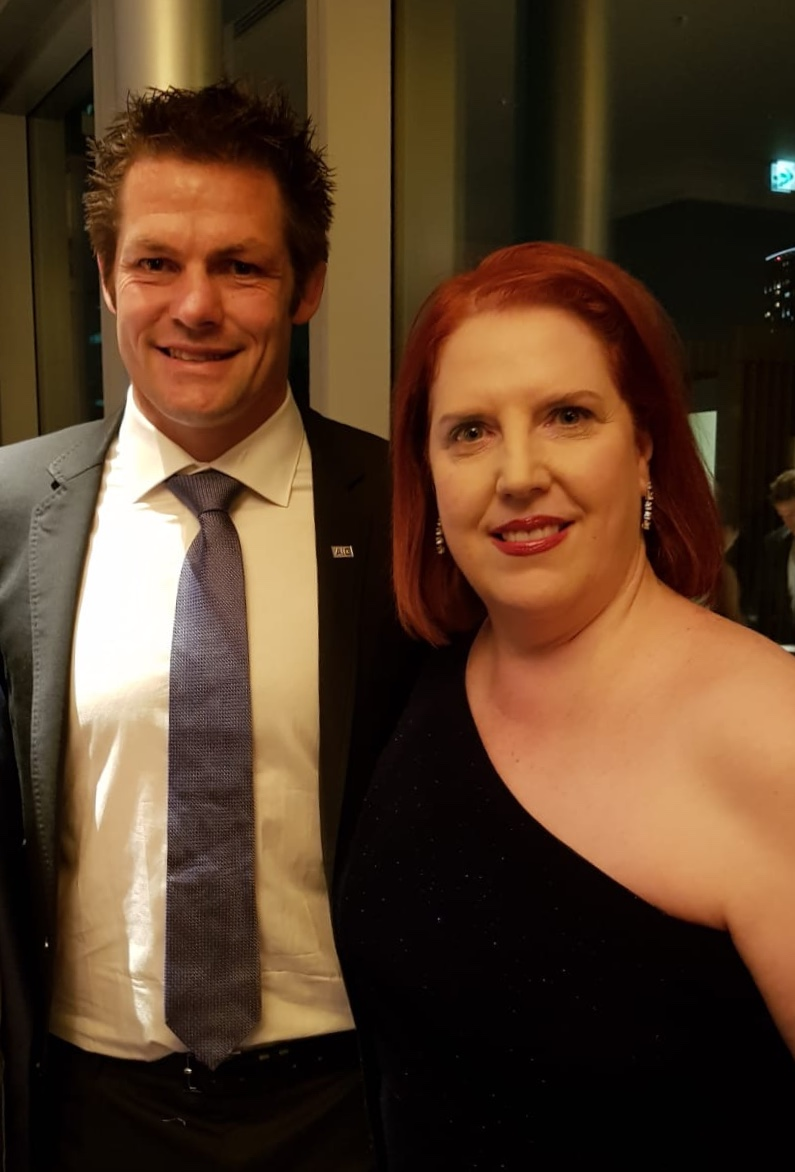 All Black rugby legend Richie McCaw