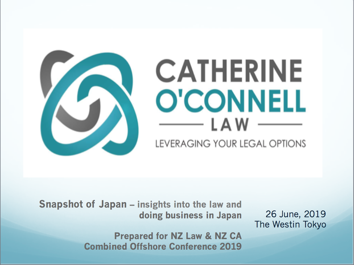 Snapshot of Japan- Catherine O'Connell Law NZ Law and NZ CA Event 2019.png