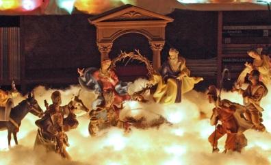 ChristmasVillageLibraryblog2012