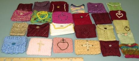 More Rosary pouches coming. Once we have about 100 made we will make them available on-line.