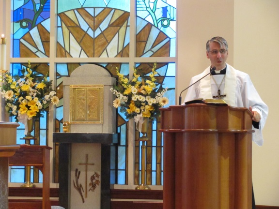 Fr. Ken Geraci, C.P.M. exhorted us to deepen our prayer life and speak out about the truths of our faith while we can. Thanks Fr. Ken for your holy challenge!