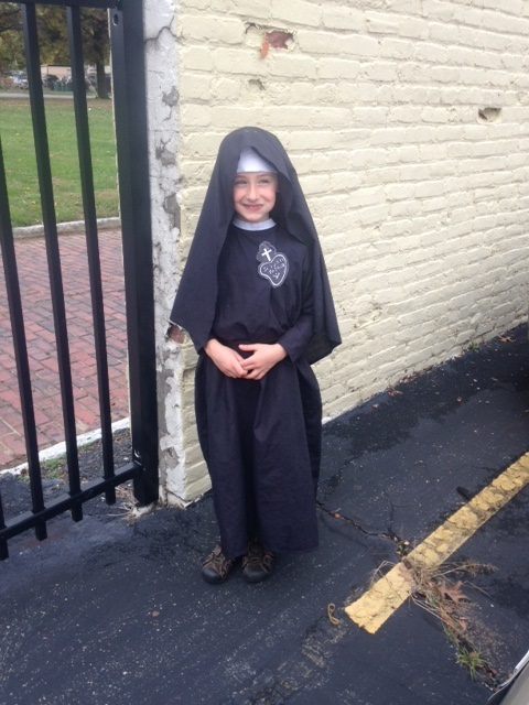 Will this young lady be a Passionist Nun in 10 - 12 years? We hope so!