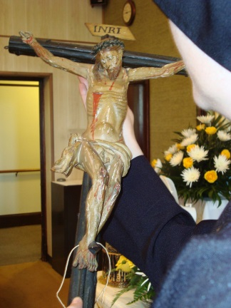 Crucifix used by St. Paul of the Cross during a Mission