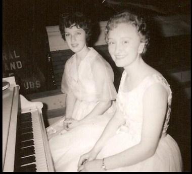 A high school piano recital