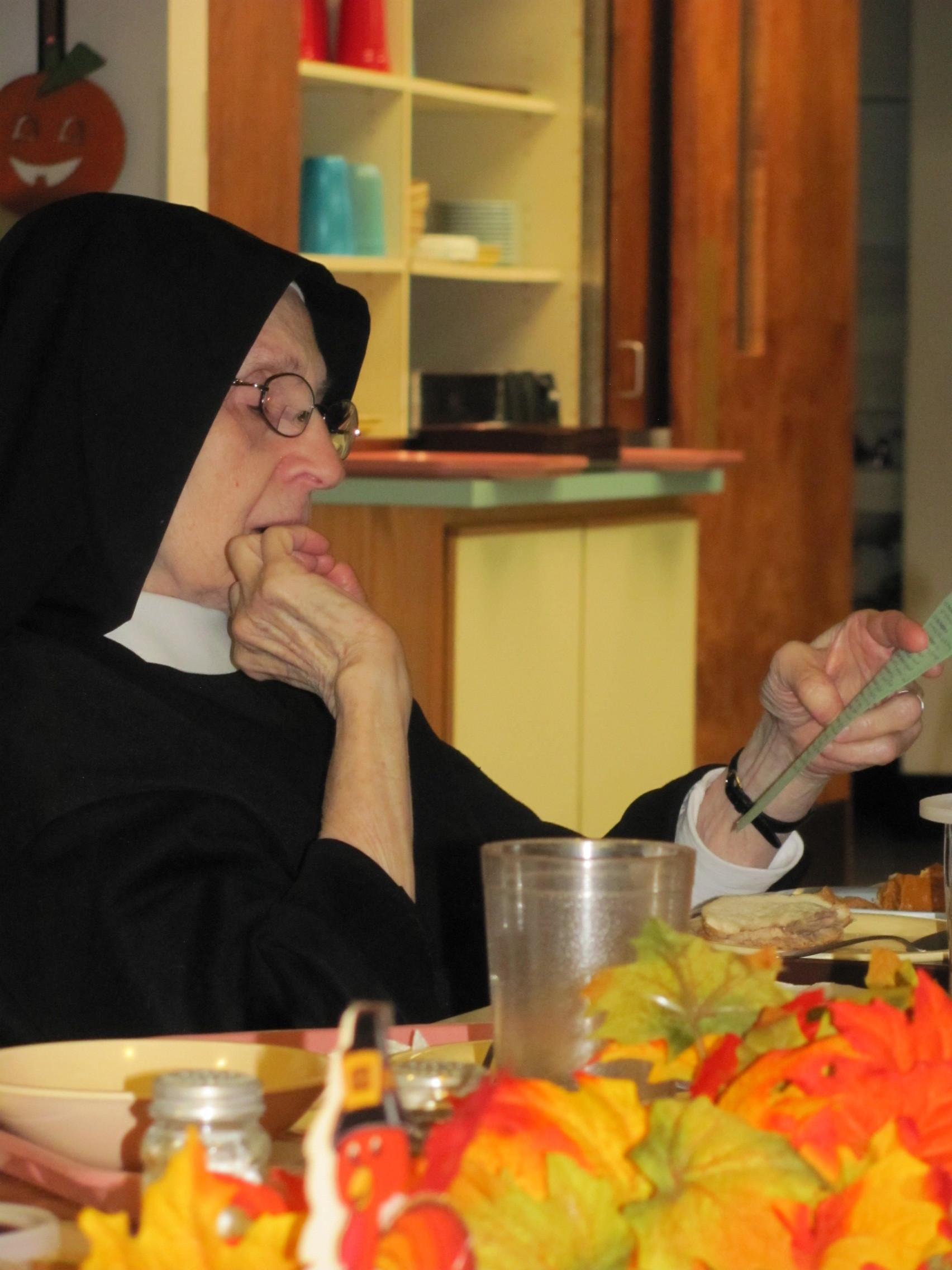 Sister Mary Elizabeth of the Running Walker
