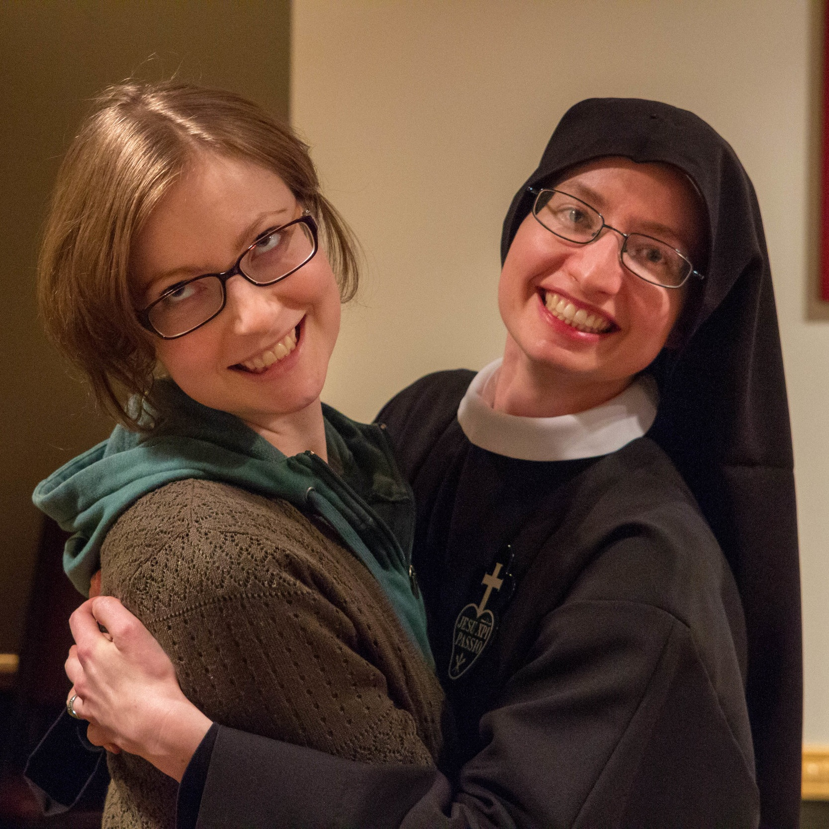 Sr. Cecilia Maria with her sister, Whitney