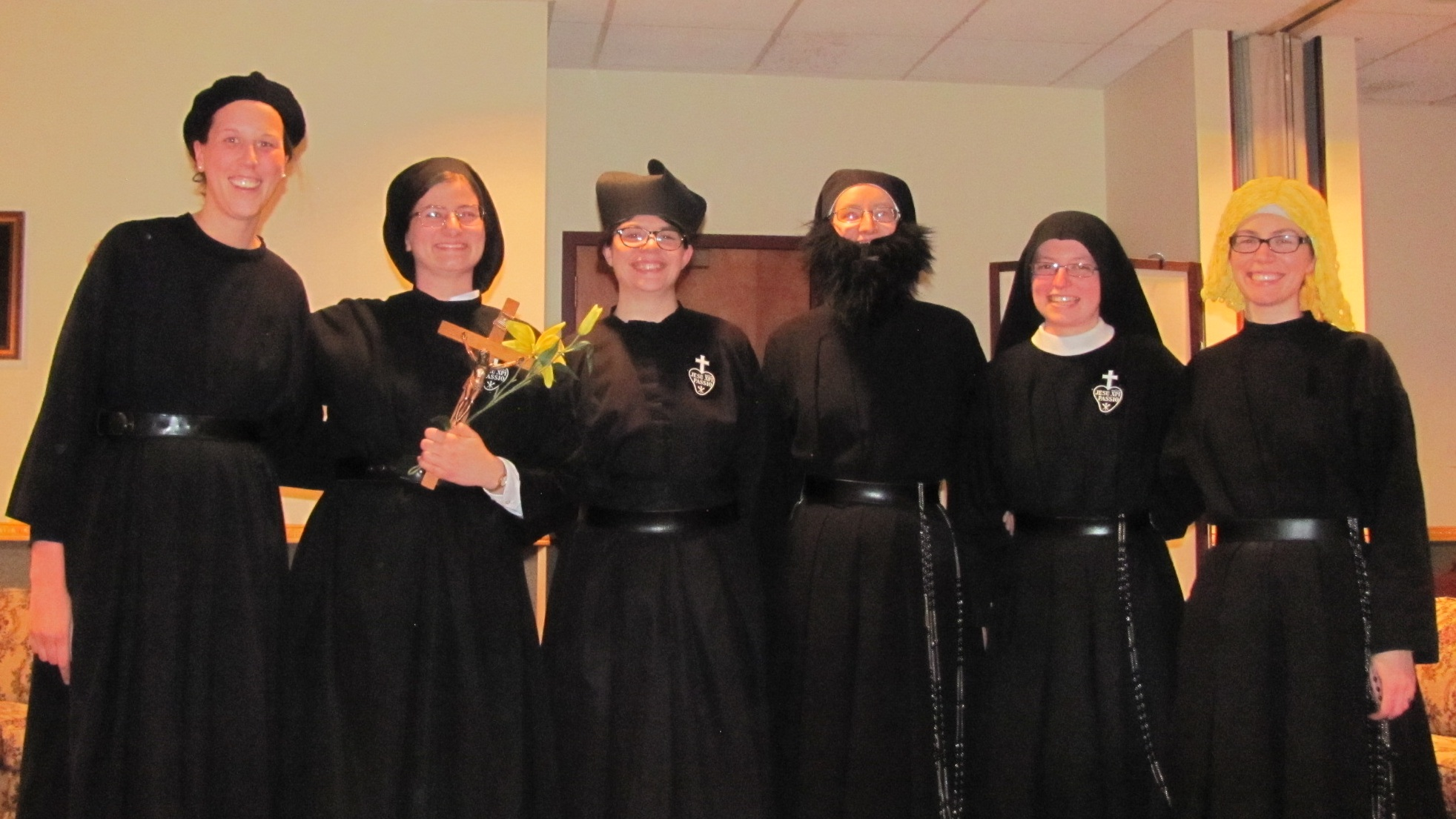 Starring… - Isabel, Theresa, Kathryn, Sr. Cecilia Maria, Sr. Frances Marie, and Sr. Maria Faustina