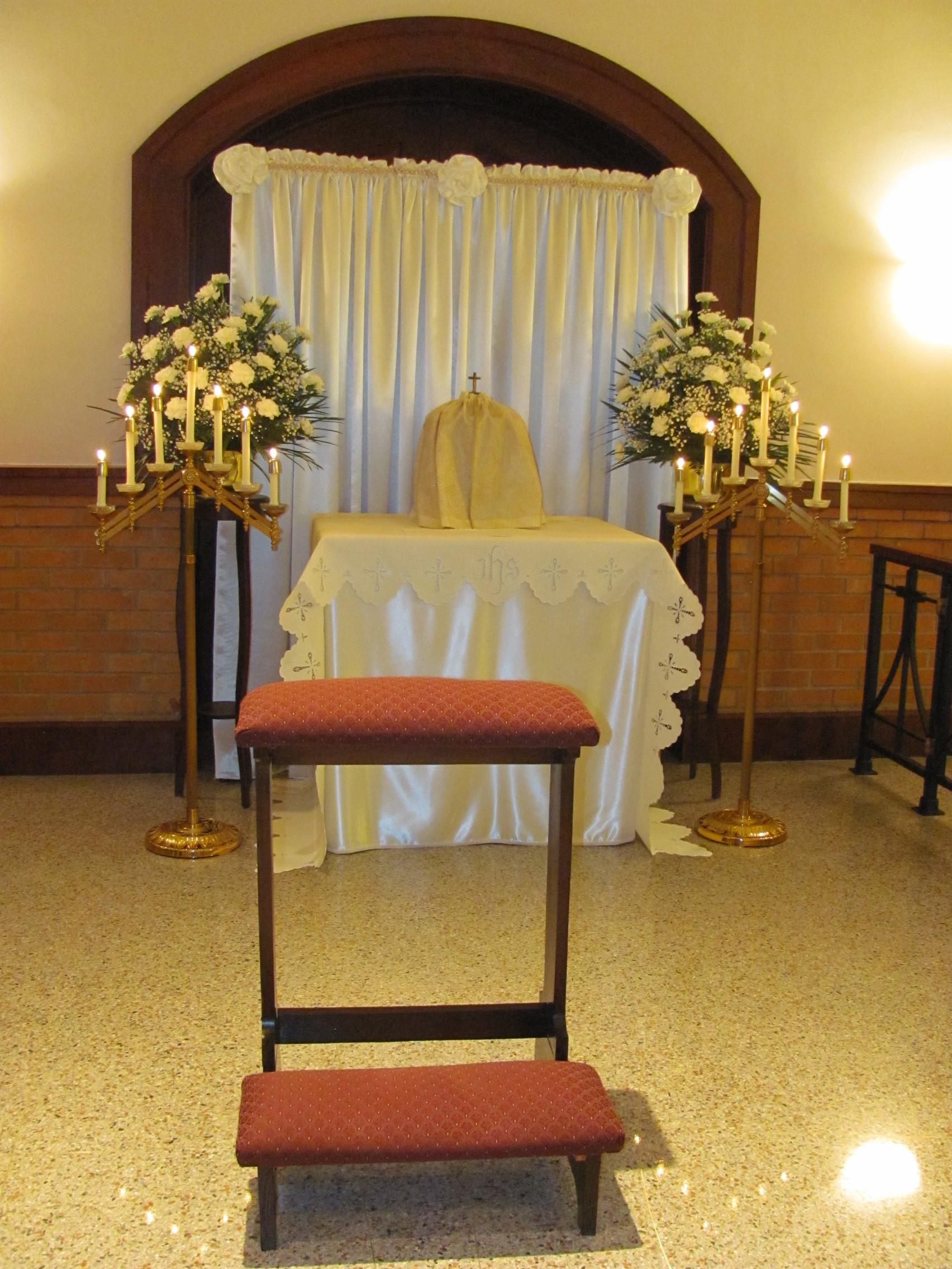 The altar of repose