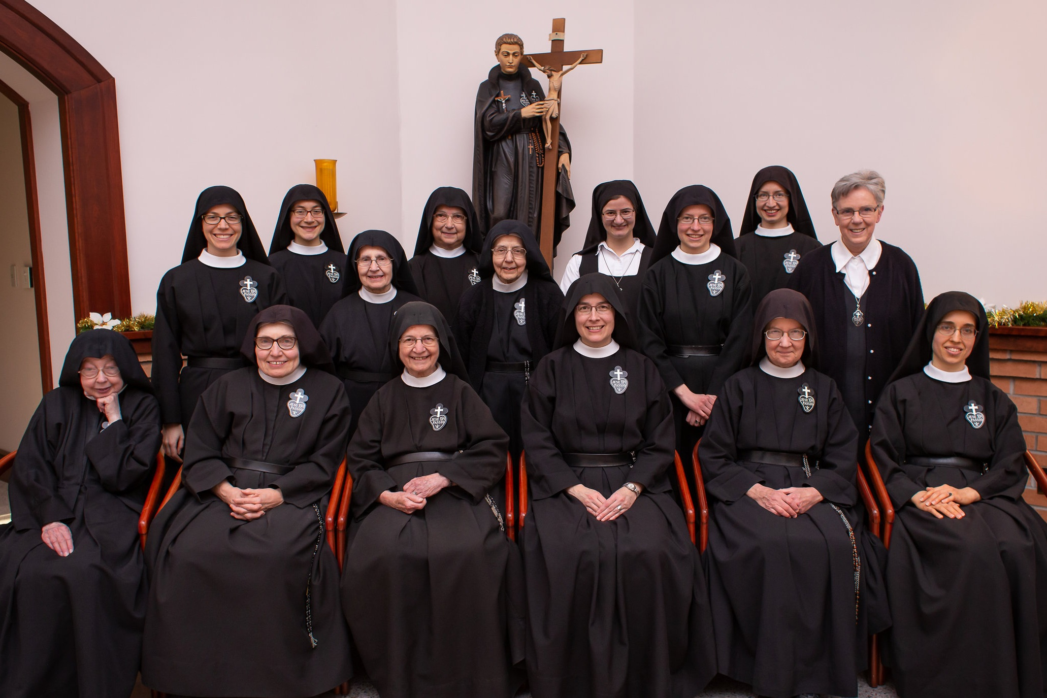 The last community photo taken before Sr. Therese Marie was called home to God in January 2019