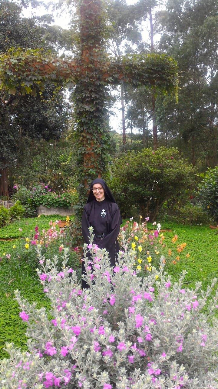 Sr. Daniela at Mosteiro Santa Gema