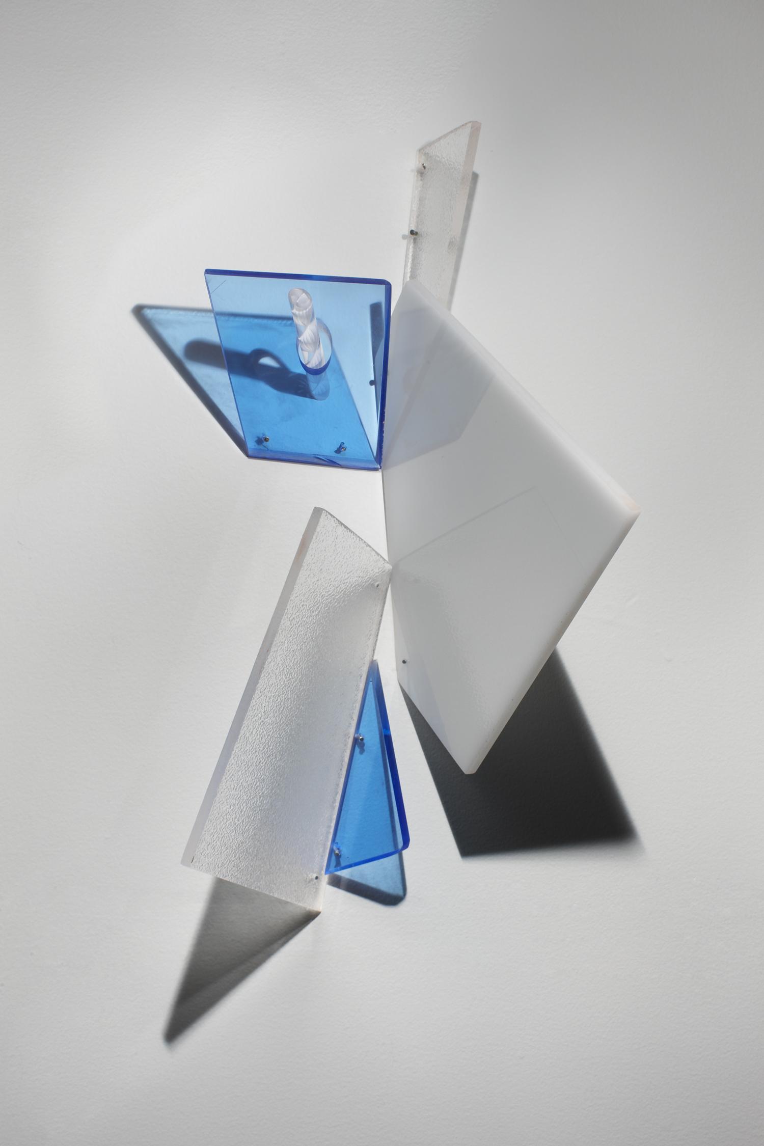 Close Hold  2012 Plexiglas  5Hx6.5Wx7.5D inches / 38x17x19 cm