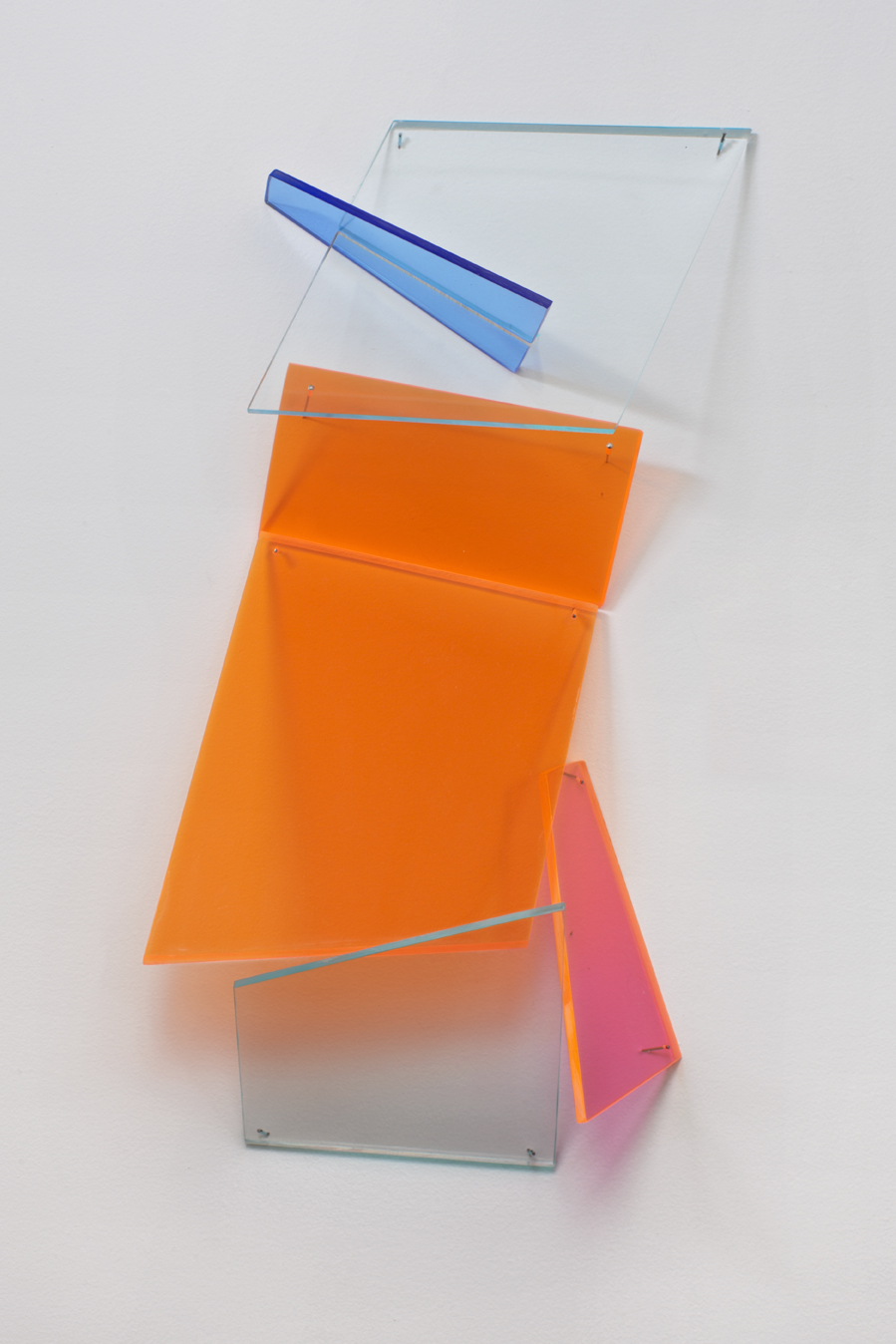 Lyric  2012 Plexiglas 30.5Hx11Wx4D inches / 77x28x33 cm