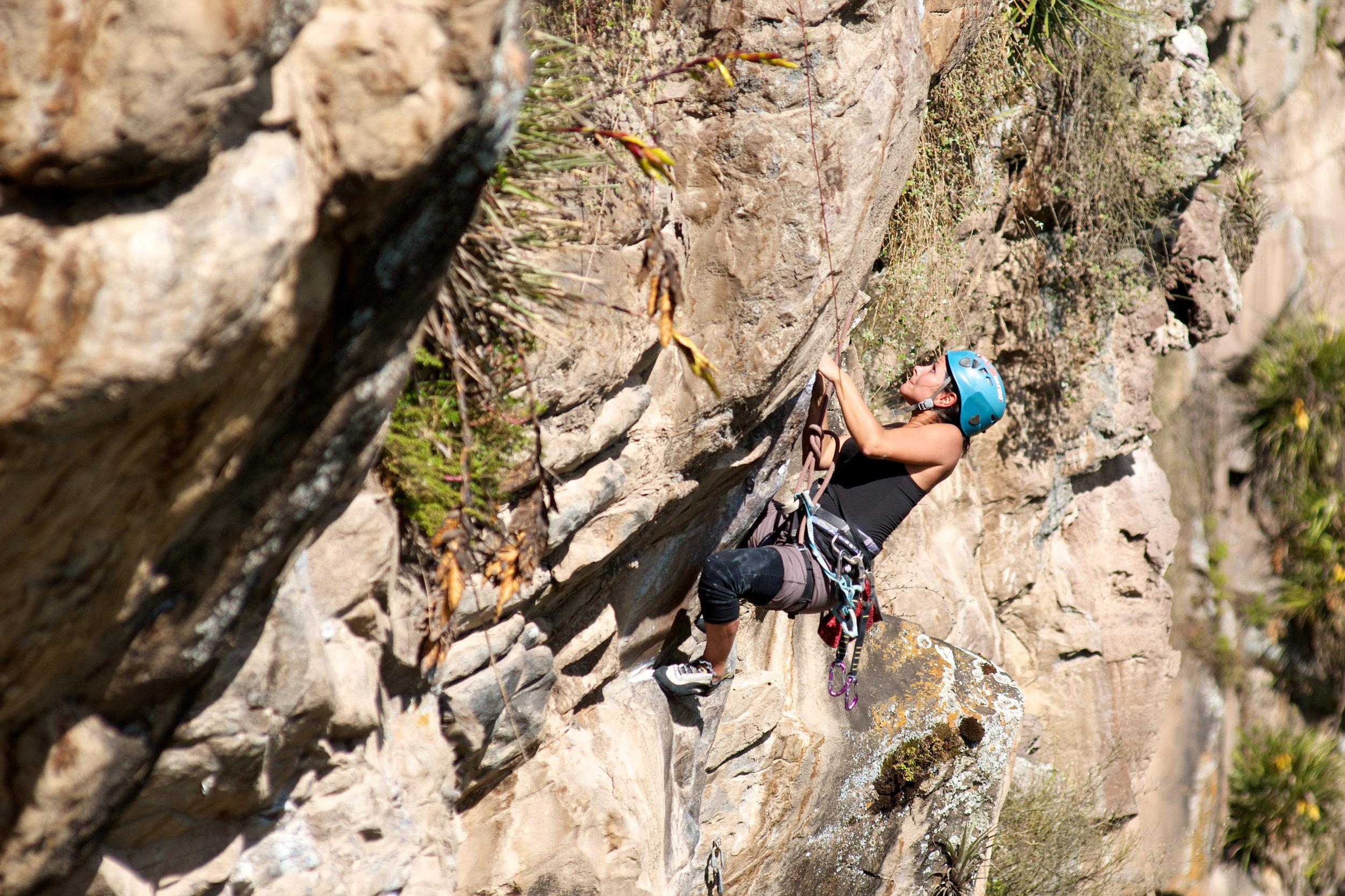 Rock Climbing Sigsipamba