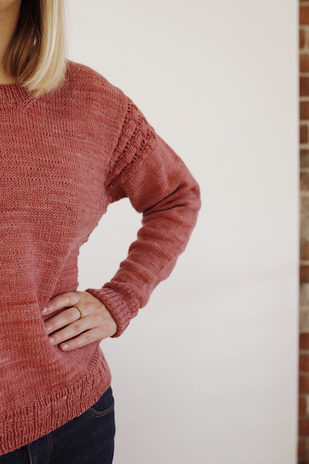 Hay Sweater Sleeves Clare Mountain HLH Designs