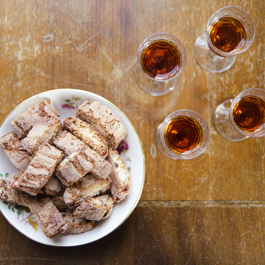 Classic. Almond Anise and Vin Santo.