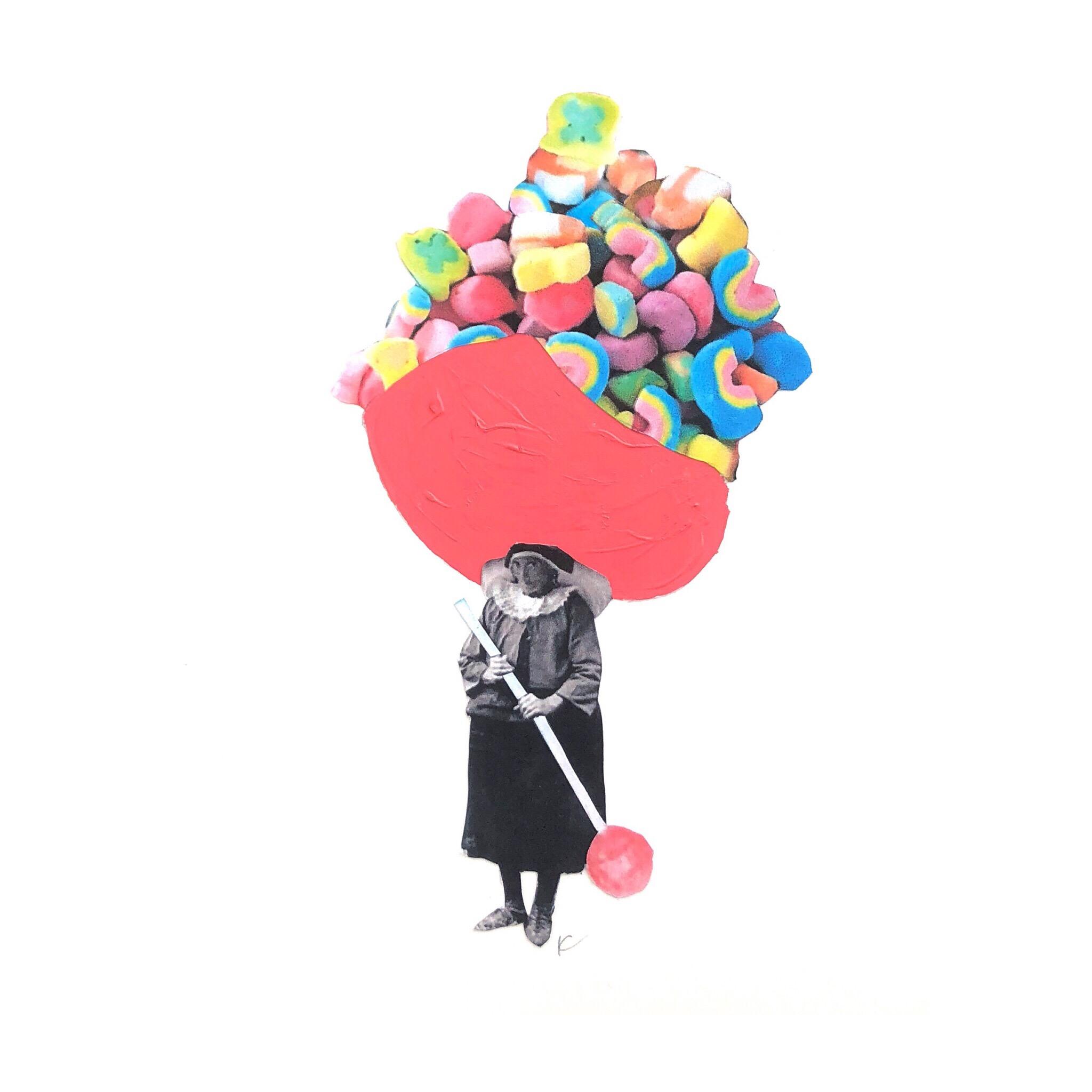 Sheila was a Lucky Candy Wrangler
