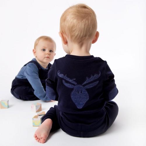 Bergen ullbody baby gutt, kr 359