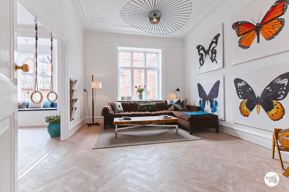 THE CHRISTIAN SIXTH RESIDENCE - Indre By, København3 soverom / 2 badLys og familievennlig bolig i hjertet av Københavns gamleby er perfekt for små barn. Det er sengeplass for 2-3 voksne, 2 barn og en baby.€280 – €399 / NATT