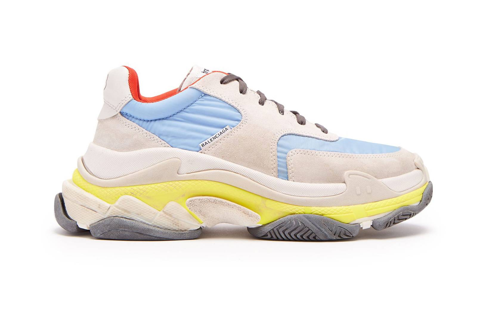 Balenciaga - Triple S low-top trainers, £615
