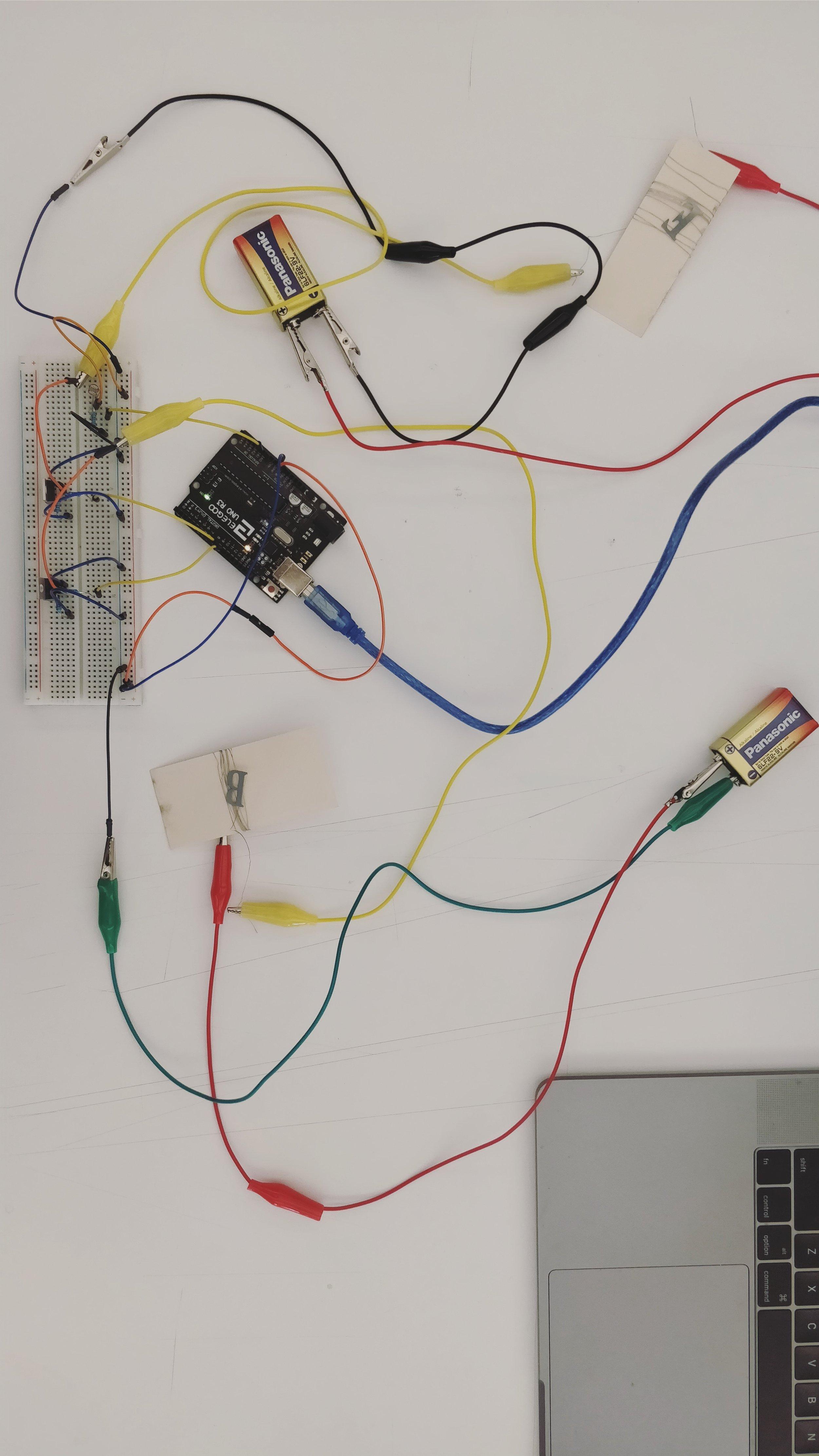 Controlling a high load circuit through the Arduino