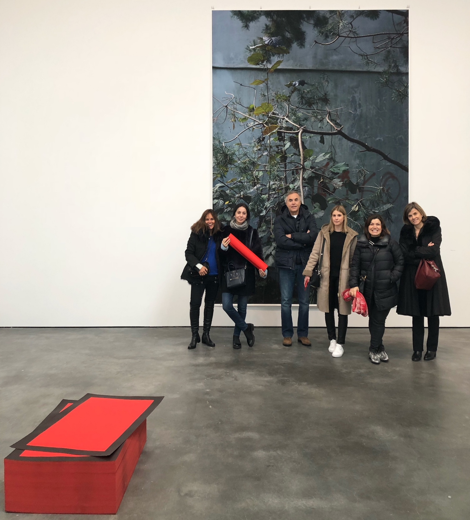 """Artsy tour at David Zwirner's """"25 Years"""" show"""