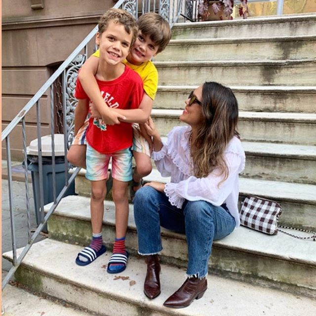 Sad that Summer is ending but excited to dress up for Fall! My kids and I were featured in a back to school style post at Loeffler Randall's blog. And yes: my kids' socks never match! 🧦 Read more on Stories