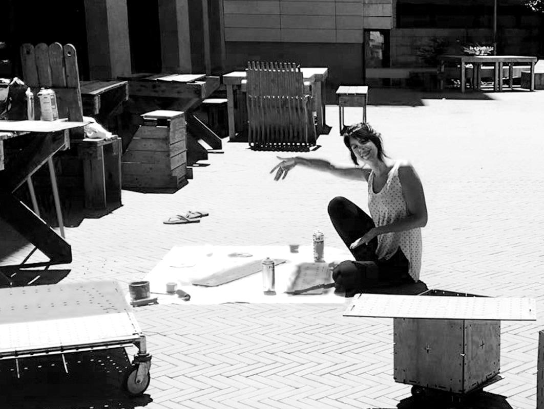 Laura Sobral   Activismo urbano + construcción